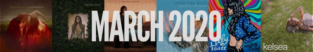 March 2020 New Country Album Releases