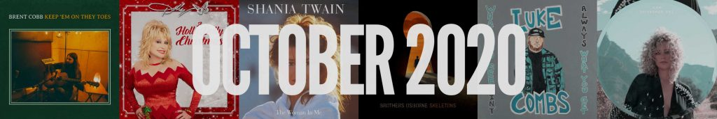 October 2020 New Country Album Releases