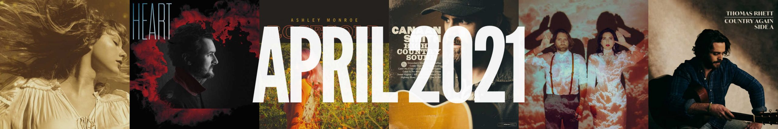 April 2021 New Country Album Releases