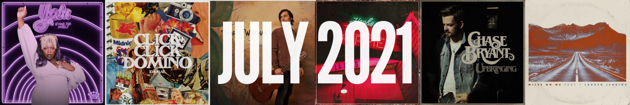July 2021 New Country Album Releases