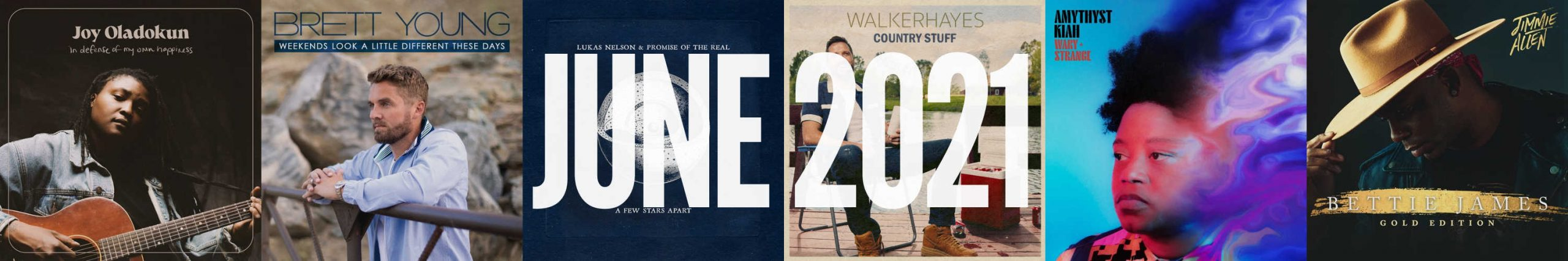 June 2021 New Country Album Releases