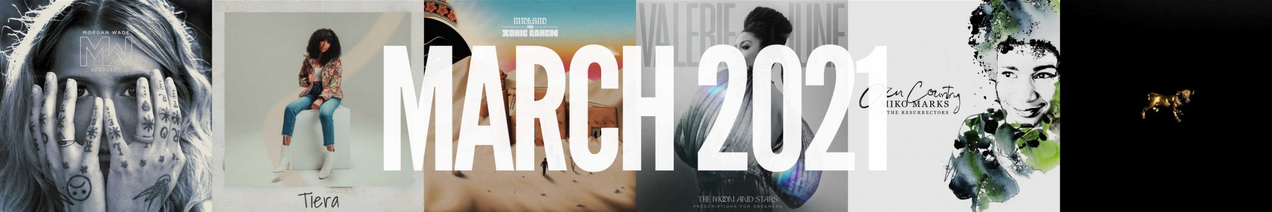 March 2021 New Country Album Releases