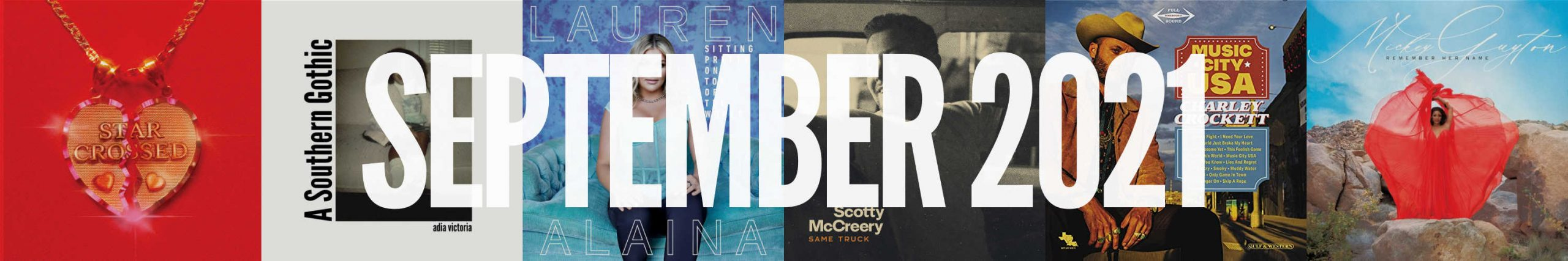 September 2021 New Country Album Releases